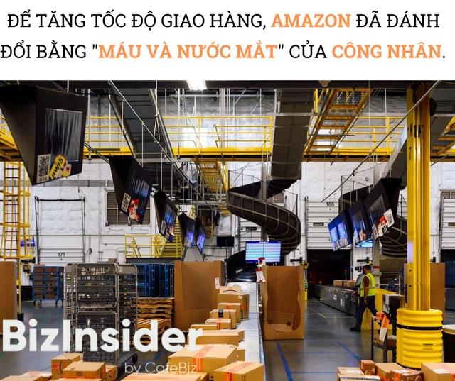 Hiện trực trần trụi bên trong những siêu nhà kho của Amazon: Dùng thuật toán áp KPI cho công nhân, hiệu suất tính chính xác tới từng giây, không tồn tại giờ giải lao - Ảnh 4.