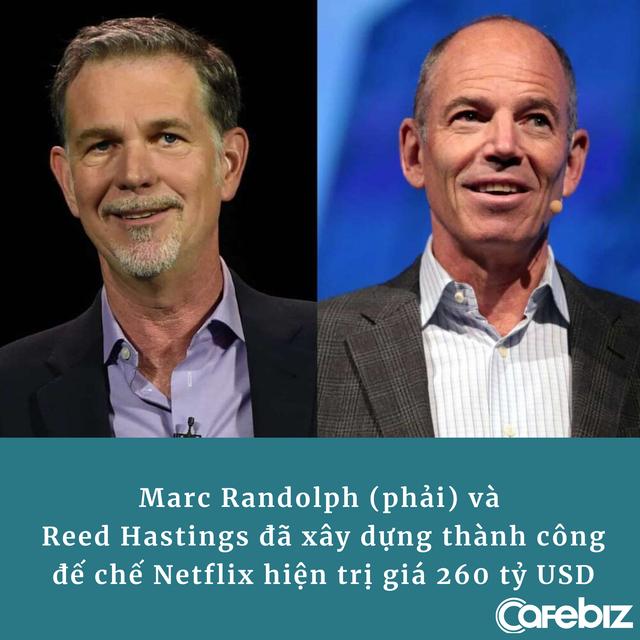 CEO đầu tiên của Netflix: Nhờ nhịn đói, ăn xin từ đồng 25 xu lẻ mà tìm ra cách làm nên đế chế 260 tỷ USD - Ảnh 3.