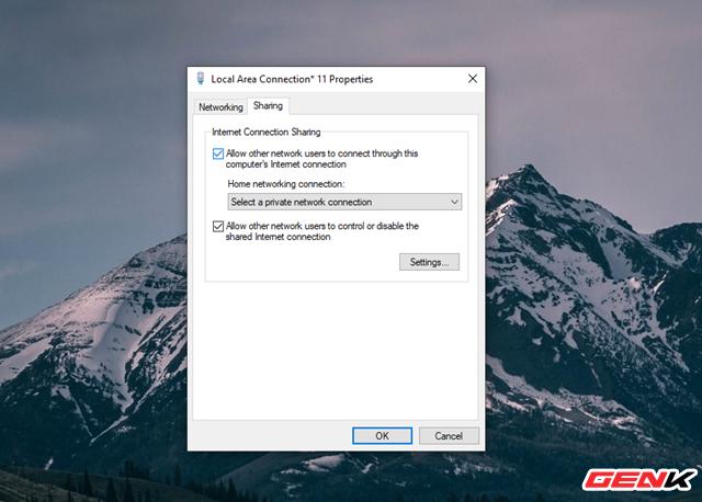 Hô biến Laptop Windows thành một chiếc router ảo để chia sẻ kết nối Internet và tập tin - Ảnh 9.