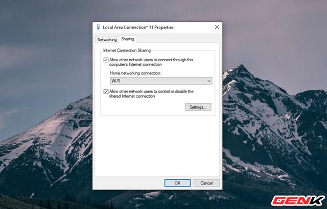 Hô biến Laptop Windows thành một chiếc router ảo để chia sẻ kết nối Internet và tập tin - Ảnh 10.