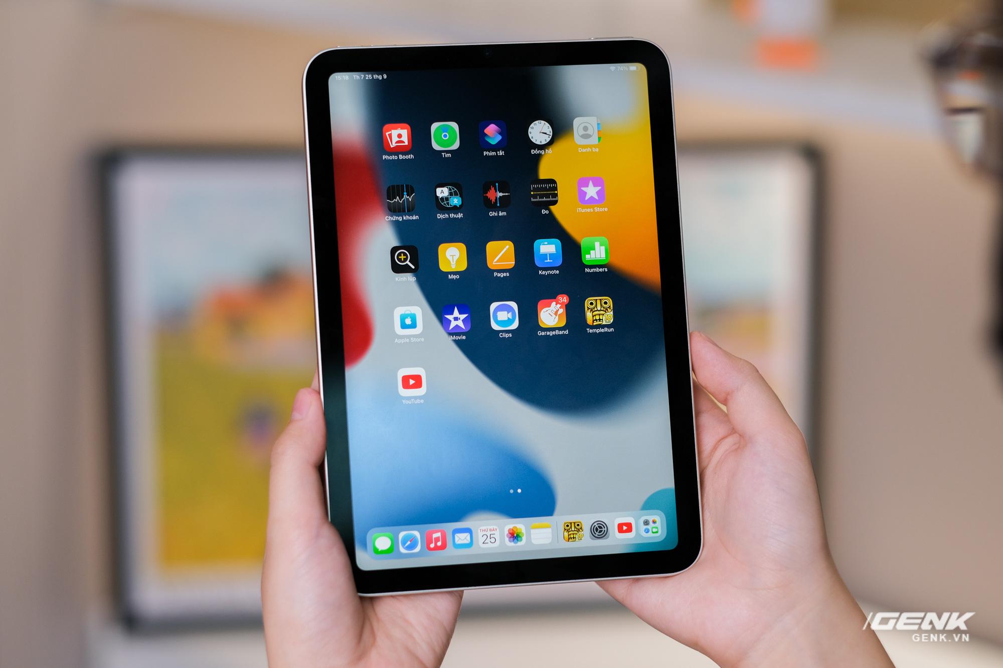 Trên tay iPad mini 6: Chiếc máy tính bảng 8 inch mạnh mẽ nhất thế giới!