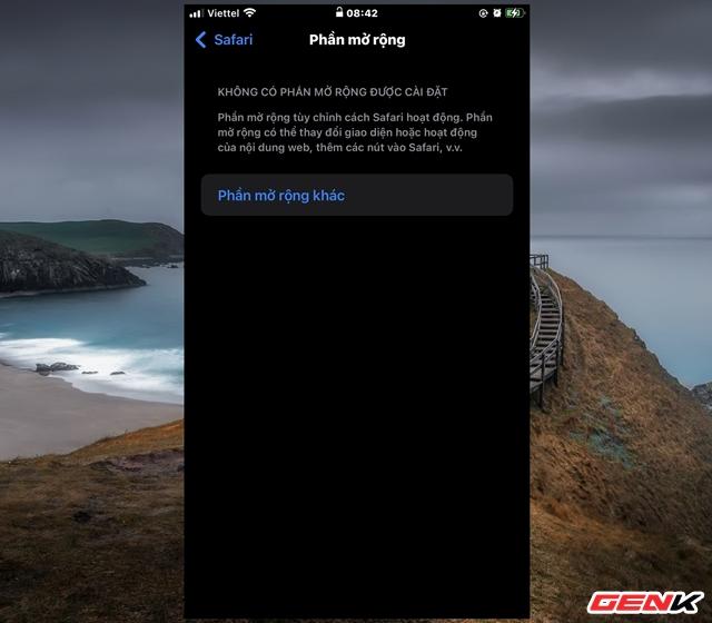 Cách cài đặt thêm tiện ích mở rộng cho Safari trên iOS 15 - Ảnh 3.