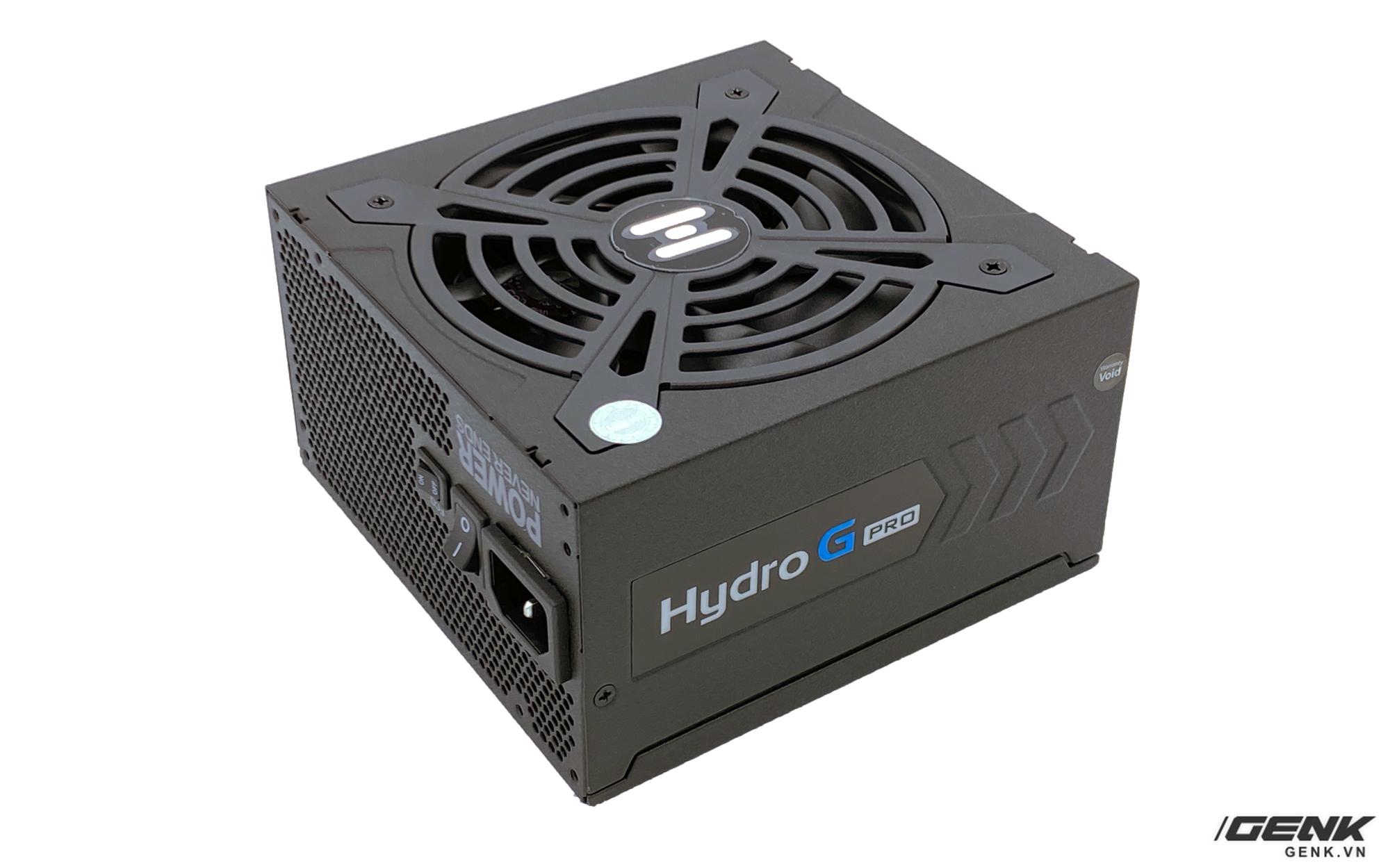Mở hộp và cảm nhận nhanh nguồn FSP Hydro G Pro 750W: giá cả cạnh tranh so với tính năng mang lại