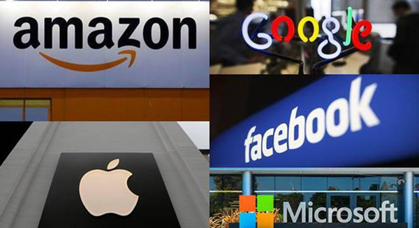 Bất chấp Covid-19, ngũ đại gia công nghệ Mỹ đạt được tổng doanh thu 1,3 nghìn tỷ USD, lấn sân sang lĩnh vực của nhau, tạo nên bức tranh kinh tế đầy quyền lực - Ảnh 1.