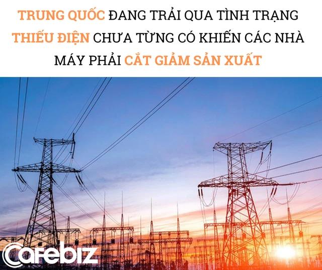 Trung Quốc 'thiếu điện', thế giới đón cú sốc 'thiếu đủ thứ': Các nhà máy chỉ hoạt động 3 ngày/tuần, có nơi tạm đóng cửa, chuỗi cung ứng toàn cầu trở thành mớ hỗn độn - Ảnh 2.
