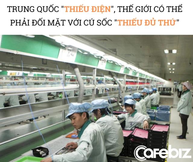 Trung Quốc 'thiếu điện', thế giới đón cú sốc 'thiếu đủ thứ': Các nhà máy chỉ hoạt động 3 ngày/tuần, có nơi tạm đóng cửa, chuỗi cung ứng toàn cầu trở thành mớ hỗn độn - Ảnh 3.