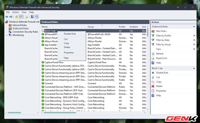 Cách chặn kết nối Internet của các phần mềm, ứng dụng trên Windows - Ảnh 12.