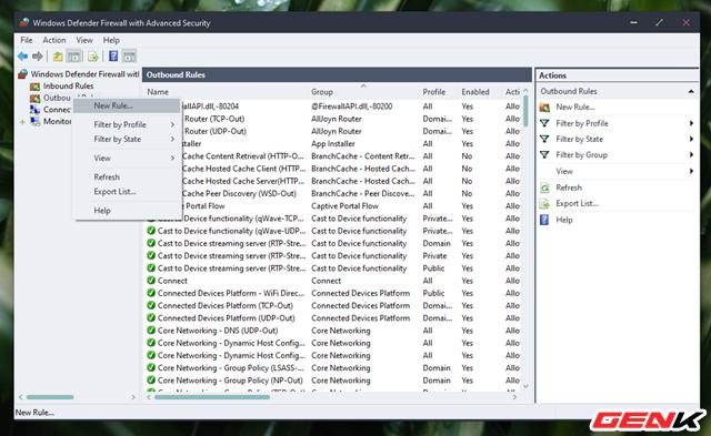 Cách chặn kết nối Internet của các phần mềm, ứng dụng trên Windows - Ảnh 6.