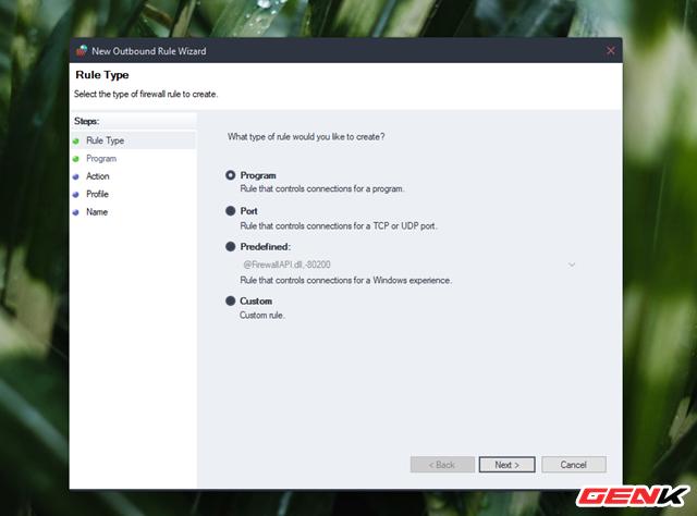 Cách chặn kết nối Internet của các phần mềm, ứng dụng trên Windows - Ảnh 7.