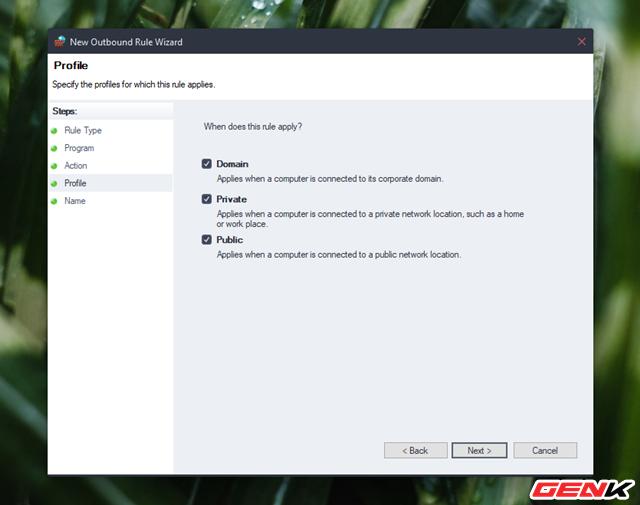 Cách chặn kết nối Internet của các phần mềm, ứng dụng trên Windows - Ảnh 10.