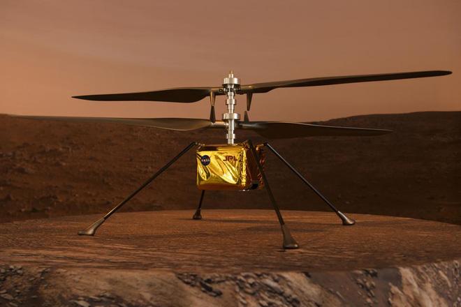 Trung Quốc trình làng nguyên mẫu thiết bị thăm dò Sao Hỏa, dân mạng lập tức chê bai: Sao chép trắng trợn thiết bị bay của NASA - Ảnh 2.