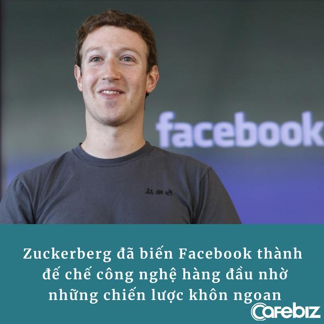 Không 'ngoa' khi nói Mark Zuckerberg là 1 trong những người khôn ngoan nhất thế giới, nhìn 3 chiến lược ông chủ Facebook áp dụng là đủ hiểu! - Ảnh 3.