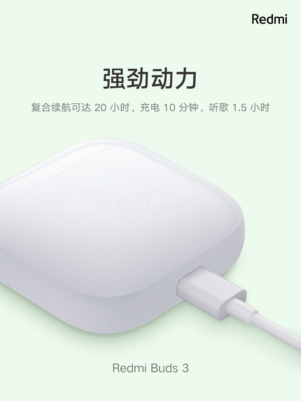 Xiaomi ra mắt tai nghe không dây giá rẻ: Thiết kế giống AirPods, chống nước IP54, pin 20 giờ, giá chỉ 550K - Ảnh 4.