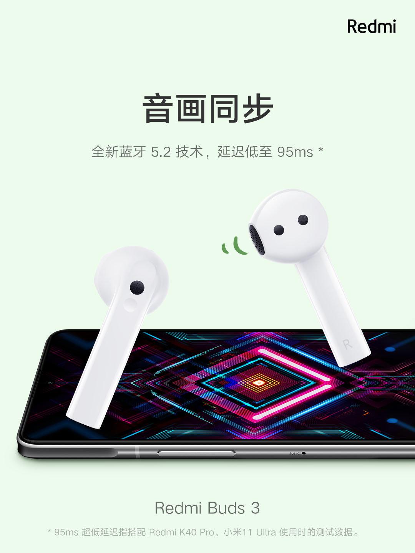 Xiaomi ra mắt tai nghe không dây giá rẻ: Thiết kế giống AirPods, chống nước IP54, pin 20 giờ, giá chỉ 550K - Ảnh 3.