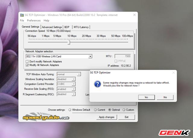 Cách tối ưu và cải thiện tốc độ kết nối Ineternet trên Windows trong mùa đứt cáp - Ảnh 11.