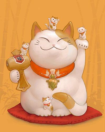 Maneki-Neko là gì? Hãy khám phá nguồn gốc hấp dẫn của chú mèo may mắn đến từ Nhật Bản - Ảnh 1.