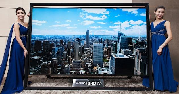 Samsung giới thiệu Ultra HDTV to nhất thế giới