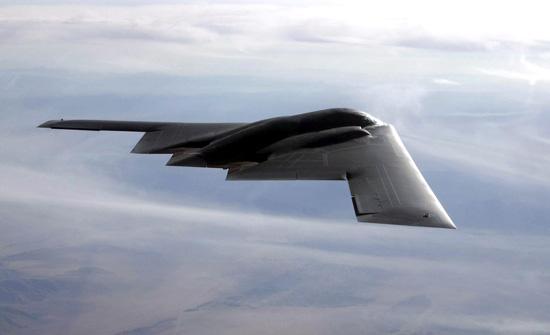 Máy bay ném bom tàng hình, bóng ma trên bầu trời