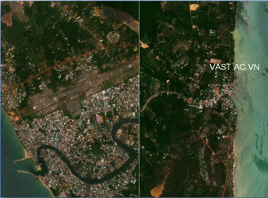 Vị trí: Đảo Phú Quốc - Việt Nam (Bờ Đông và Bờ Tây của Đảo Phú Quốc)