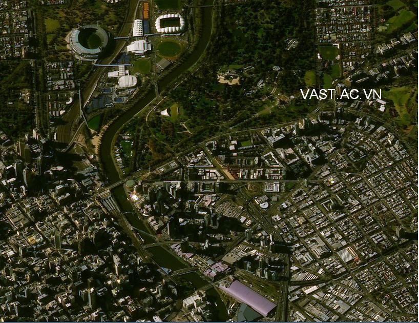Vị trí: Thành phố Melbourne - Úc
