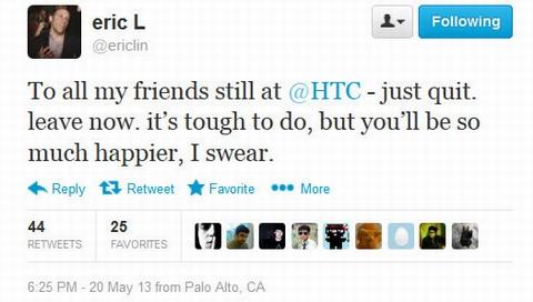 Lin kêu gọi trên Twitter.