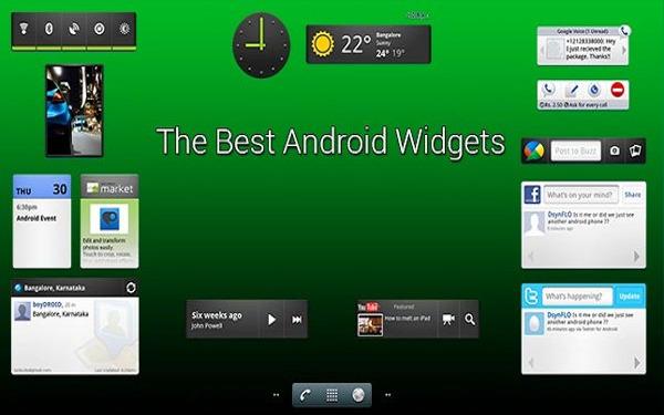 Top 5 widget trên Android 1