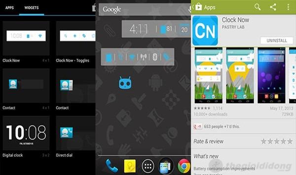 Top 5 widget trên Android 3