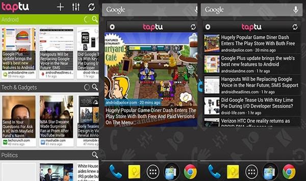 Top 5 widget trên Android 6