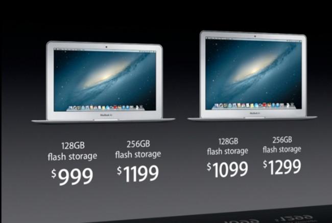 Apple nâng cấp MacBook Air với chip Haswell, có model mới, pin lâu hơn