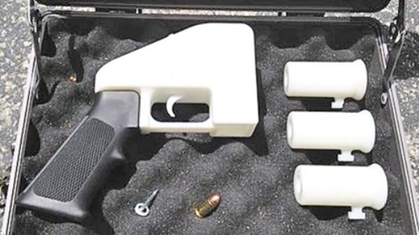 Một khẩu súng được làm bằng công nghệ in 3d.