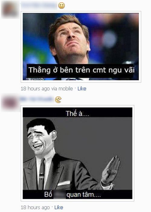 Gây nhiễu và phản cảm, những comment bằng hình ảnh đang dần bị cộng đồng Facebook tẩy chay.
