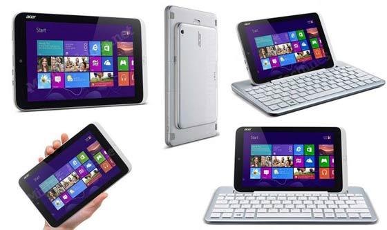 Tablet Windows 8 cỡ nhỏ được nâng cấp với màn hình chất lượng cao