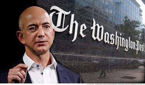 Lý do CEO Amazon mua Washington Post