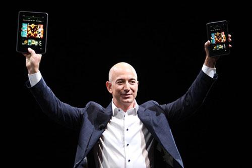 Thành công của Amazon gắn liền với sự phát triển của Internet.
