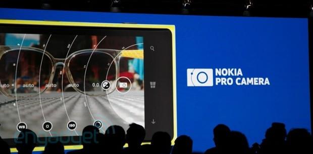 Ứng dụng Pro Camera cho Lumia 1020 giúp điều khiển settings của camera một cách dễ dàng
