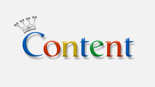 Nội dung mới là thứ mà Google quan tâm.