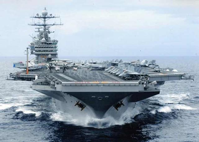 Mỹ cần mấy tàu sân bay để đưa Syria về thời cổ đại?