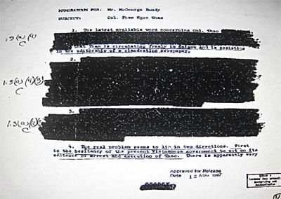 Giải mật tài liệu mật của CIA về huyền thoại tình báo Việt Nam