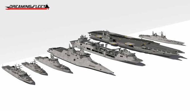 Trung Quốc thiết kế hạm đội tương lai của Hải quân Mỹ