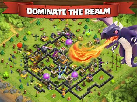 Game di động hấp dẫn Clash of Clans chính thức xuất hiện trên Android
