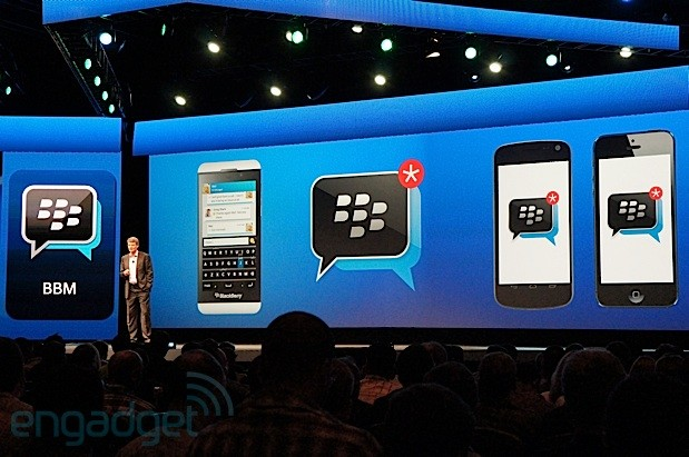 BlackBerry unveils BBM for Android and iOS