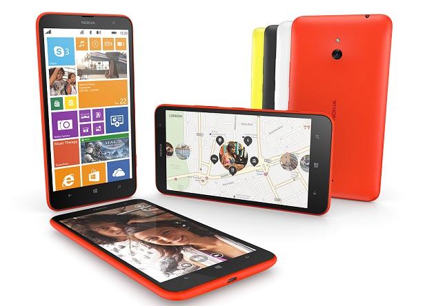 """Lumia 1320 """"Người Dơi"""" chính thức xuất hiện: Màn hình 6 inch, giá 7,2 triệu đồng"""