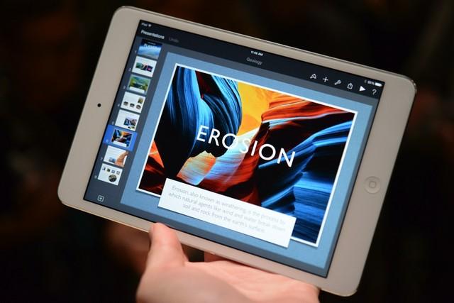 Cận cảnh iPad mini 2: Nâng cấp mạnh mẽ về phần cứng