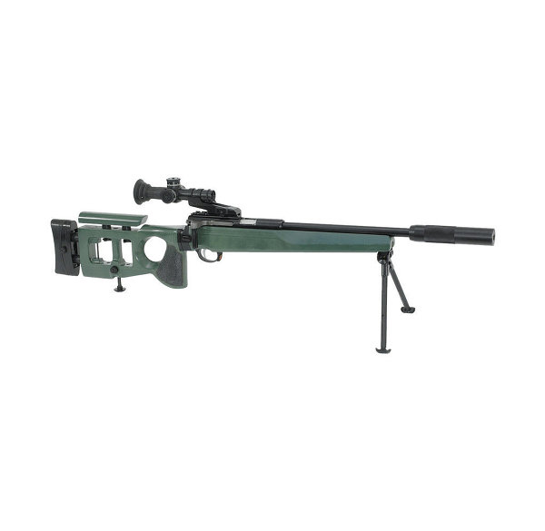Súng trường bắn tỉa SV-99 sử dụng đạn cỡ nhỏ 5,6 mm và tầm bắn hiệu quả lên tới 100m.