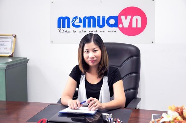 Chị Trương Tố Linh - CEO và Founder của Memua.vn