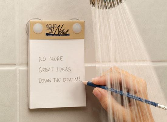 Ý tưởng xuất hiện nhiều nhất khi chúng ta tắm