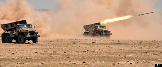 Tình hình Mỹ - Syria căng thẳng, các nước liên quan có động thái gì?