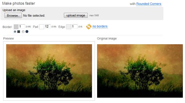 Giảm dung lượng ảnh hơn 90% so với ảnh gốc nhưng không làm thay đổi chất lượng ảnh