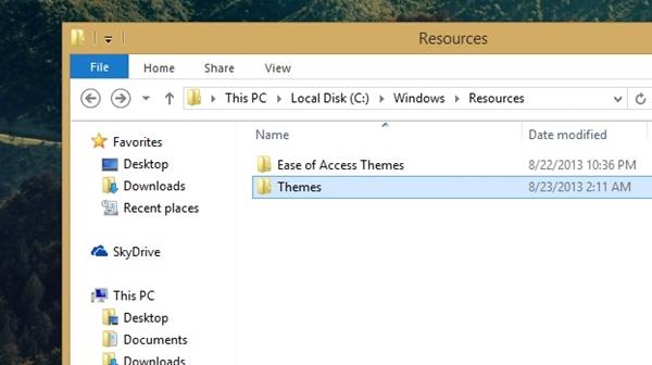 Làm thế nào để cài đặt giao diện mới cho Windows 8.1?