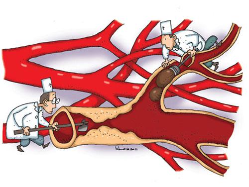 Nicotin giúp lưu thông máu trong động mạch